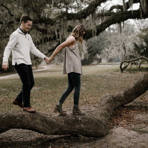 Cozy Couple Portraits in New Orleans, Louisiana